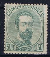 Spain: 1872   Yv Nr 125 MNH/** - Nuevos