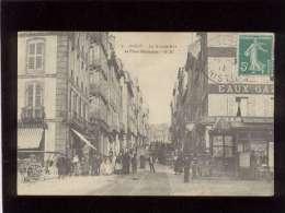 29 Brest La Grande Rue & Place Médisance édit. GB N° 5 Animée Rails Du Tramway , Pharmacie , Charcuterie - Brest