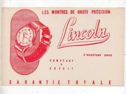 Buvard - Les Montres De Haute Précision Lincoln - L