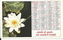 CAL214 - CALENDARIETTO 1988 - PP.OO.MM. OPERA PROPAGAZIONE DELLA FEDE - Formato Piccolo : 1981-90