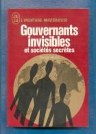 Serge Hutin  « Gouvernants Invisibles Et Sociétés Secrètes »  L´Aventure Mystérieuse A 269 - Esotérisme