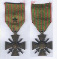 Médaille Crois De Guerre 1914 - 1918 - Avec Une étoile - France