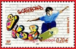France Sport N° 3691 ** Collection Jeunesse Glisse - Le Skateboard - Skateboard
