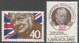Uruguay. 1966 Churchill Commemoration. MH Complete Set. SG 1283-1284 - Uruguay