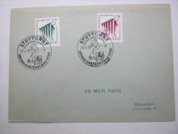 Ersttagsbrief , FDC , Gartenschau  auf Brief  vom  22.4.1939