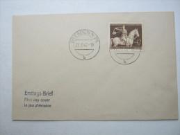 Ersttagsbrief , FDC , Braunes Band,  auf Brief  vom 22.7.1943