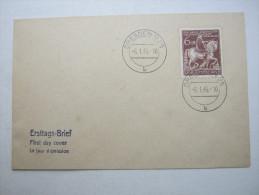 Ersttagsbrief , FDC , Oldenburg ,  auf Brief  vom  6.1.1945