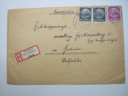 1940 , Kirchdorf über Wollstein , Notstempel Auf Brief - Germany