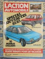 L´action Automobile Et Touristique. N° 253. Février 1982. Les Nouveautés 82/83. La Mini Renault 3. La Citroën XB. - Auto/Moto