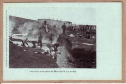 ISLANDE - REYKJAVIK - LES EAUX CHAUDES DE REYKJAVIK - COLLECTION DES OEUVRES DE LA MER - avant 1904