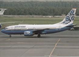 MOSKOVIA AIRLINES, Boeing 737-73A, Unused Postcard [15367] - 1946-....: Moderne