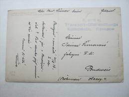 1916, Rzeszow  - Transposrt- Überwachungs Kommando , Feldpostkarte - ....-1919 Provisional Government