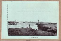 ISLANDE - OLFUSA - PONT SUSPENDU - COLLECTION DES OEUVRES DE LA MER - avant 1904