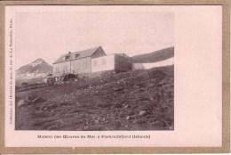 ISLANDE - FASKRUDSFJORD - MAISON DES OEUVRES DE LA MER - COLLECTION DES OEUVRES DE LA MER - avant 1904