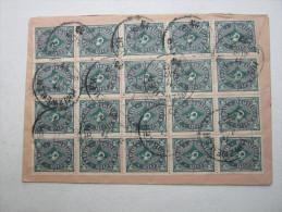 1923 , Blockfrankatur Auf Brief Aus Hinzweiler - Briefe U. Dokumente
