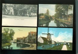 Beau lot de 60 cartes postales de Pays Bas    Mooi lot van 60 postkaarten van Nederland  Holland  -  60 scans