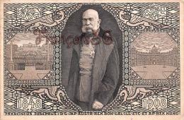 Franciscus Josephus I D'Autriche - François-Joseph Premier - 1848 - 1908 - 2 SCANS - Historische Figuren