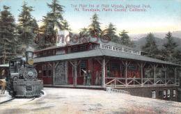 (California) The Inn At Muir Woods, National Park, Mt. Tamalpais, Marin Country - 2 SCANS - Etats-Unis