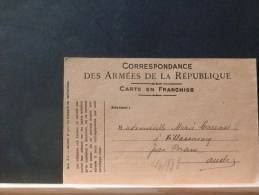 46/888   CP   CORRESP. DES AMEES 1919 - Marcofilie (Brieven)