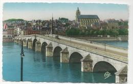 CP, 41, BLOIS, Le Pont Et La Cathédrale, Vierge - Blois