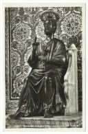 1938, Roma - Basilica Di S.Pietro - La Statua Del Santo. - Vaticano