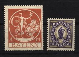 D.R.D.R.132 III,135 III, Ungebr. M. Falz (7580) - Unused Stamps