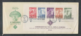 O) 1959 PHILIPPINES, SCOUTS, WORLD JAMBOREE, FDC XF - Philippines