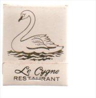 REF AA  : Pochette D´Allumettes Matches Collection Le Cygne Restaurant New York 53 East 5'th Street - Boites D'allumettes