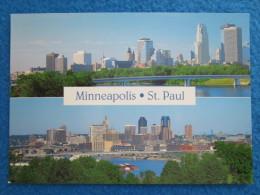 Minneapolis (top), Saint Paul (bottom) - Minneapolis