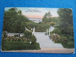 Grand Stairway, Lake Park, Milwaukee - Milwaukee