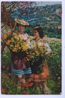 NICE ; Niçoise Cueillant Des Marguerites   1931( 1521 )  ACHAT DIRECT ! - Niza