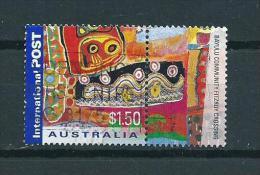 2001 Australia Greetings+tab $1,50 Used/gebruikt/oblitere - 2000-09 Elizabeth II