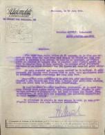 Facture Faktuur - Brief Lettre -  L´Automobile De Toulouse - 1914 - Transports