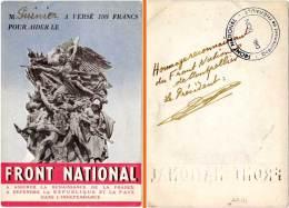 Front National De Montpellier, Hérault - - Publicidad