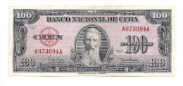 Cuba - Billete 100 Pesos - 1950 - Cuba