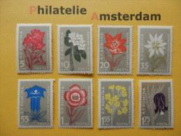 Romania 1957, FLORA FLEURS BLOEMEN FLOWERS BLUMEN FLORES FIORI: Mi 1647-54, ** - Unused Stamps