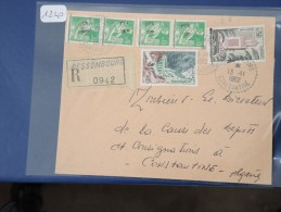 ALGERIE - EA  Sur Lettre Recommandée De Constantine De 1962 - A étudier - Détaillons Collection - Lot N° 1240 - Covers & Documents