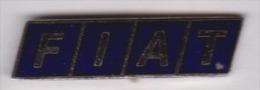 Beau Pin´s En EGF , Auto Logo Fiat - Fiat