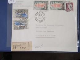 ALGERIE - EA  Sur Lettre Recommandée De Constantine De 1962 - A étudier - Détaillons Collection - Lot N° 1245 - Algeria (1924-1962)