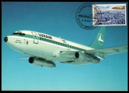 LUXAIR  Boeing 737 / 200 - Mit Sonderstempel - 1946-....: Moderne