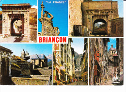 BRIANCON (05-Hautes-Alpes), La France De Bourdelle, Statue, Rue, Commerces, Ed. Mar - Briancon