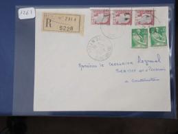 ALGERIE - EA  Sur Lettre Recommandée De Constantine De 62 - Interessant à étudier - Détaillons Collection - Lot N° 1261 - Algeria (1924-1962)