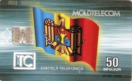 *MOLDAVIA* - Scheda Telefonica Usata - Moldavia