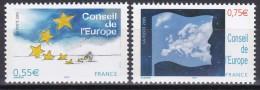 130-131Conseil De L´Europe (paire Indivisible) - Service