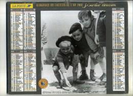 - FRANCE 33 . CALENDRIER DU FACTEUR . LA POSTE 2000 . - Calendarios