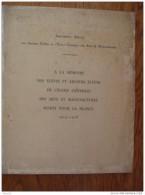Document Ecole Centrale Arts Manufactures Rue Conté 1914-1918 - Vieux Papiers