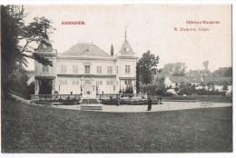 Auderghem Ouderghem Anderghem Villa Chateau Wauquiez Dumont Animée 1910 - Auderghem - Oudergem