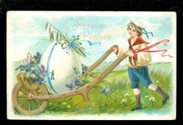 Pâques - Pasen - Carte Gaufrée  -  Reliëf - Easter