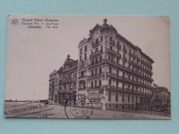 Grand Hôtel OSBORNE Ostende Tél 468 () Anno 1928 ( Zie Foto´s Voor Details ) !! - Oostende