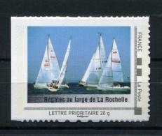 Régates Au Large De La Rochelle , Voiliers Adhésif Neuf ** . Collector Poitou - Charente 2009 - Collectors